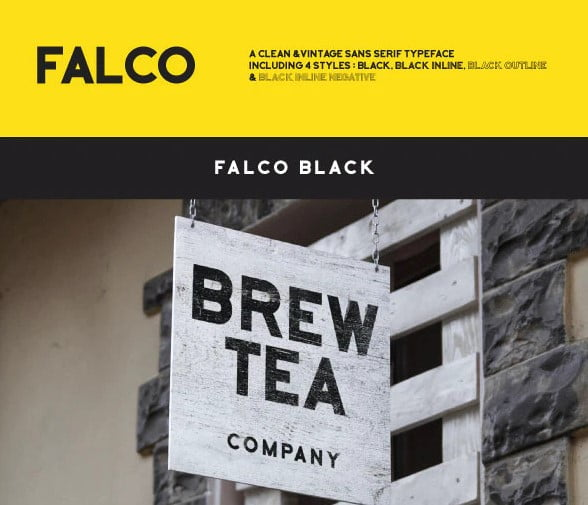 Falco - 48+ GREAT Free Fonts Collection [year]