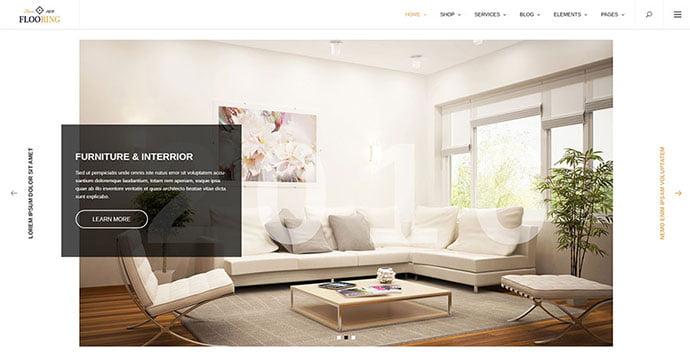 Flooring - 40+ NICE WordPress Furniture & Interior Ecommerce Themes [year]