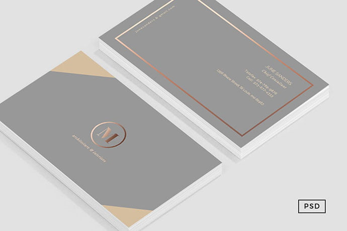 Formal - 53+ TOP PSD Business Card Designs [year]
