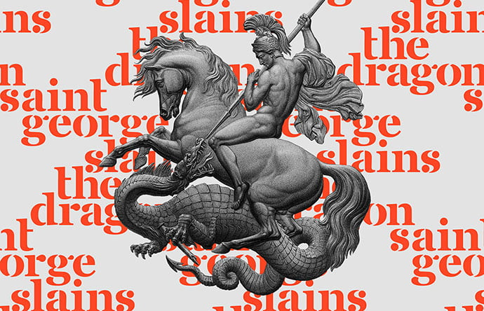 Free-Saint-George-Stencil-Font - 48+ GREAT Free Fonts Collection [year]