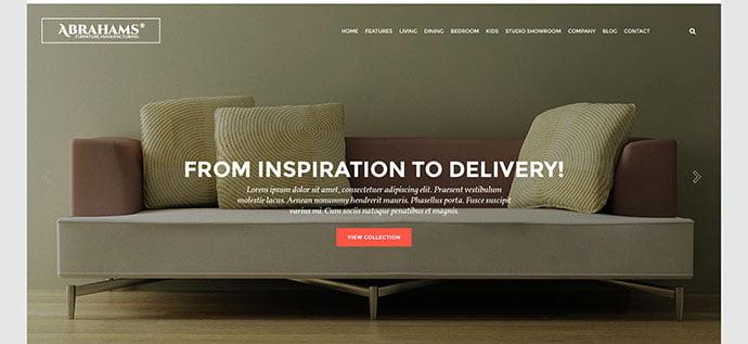 Furniture-Store - 40+ NICE WordPress Furniture & Interior Ecommerce Themes [year]