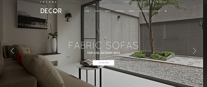 Glory - 40+ NICE WordPress Furniture & Interior Ecommerce Themes [year]