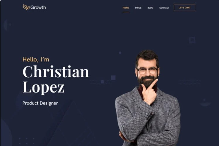 Growth - 37+ GREAT Freelancers WordPress Themes [year]