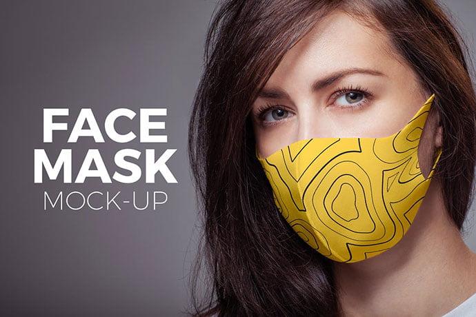 Mask-Mock-up - 33+ NICE Face Mockup PSD Templates [year]