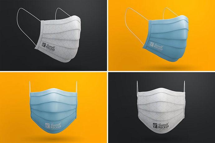 Medical-Face-Mask - 33+ NICE Face Mockup PSD Templates [year]