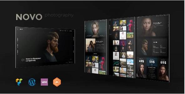 Novo - 36+ GREAT Videographers WordPress Themes [year]