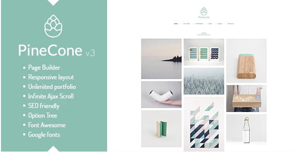 PineCone - 36+ GREAT Videographers WordPress Themes [year]