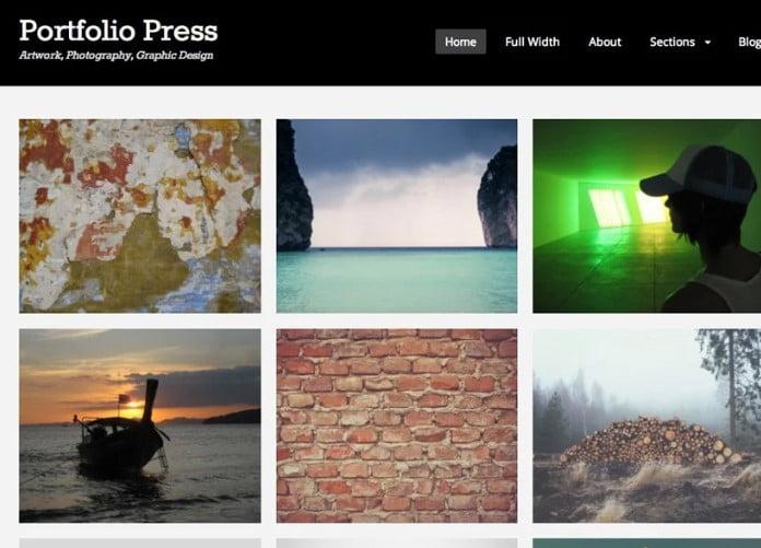Portfolio-Press - 39+ BEST FREE WordPress Portfolio Themes [year]