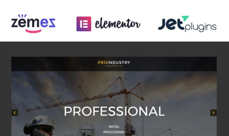 ProIndustry - 36+ BEST WordPress Insurance Themes [year]