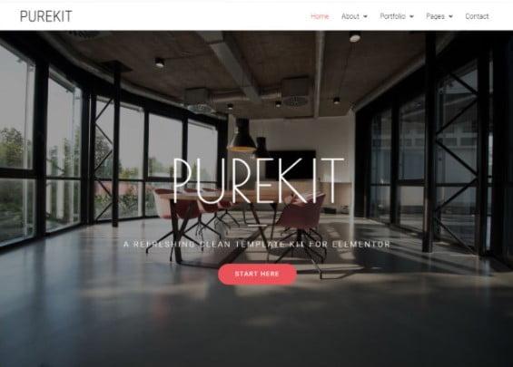 Purekit - 33+ BEST Elementor Template Kits [year]