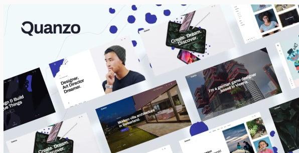 Quanzo - 36+ GREAT Videographers WordPress Themes [year]