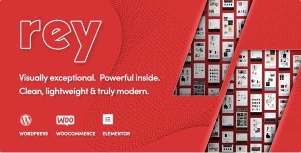 Rey - 40+ NICE WordPress Furniture & Interior Ecommerce Themes [year]