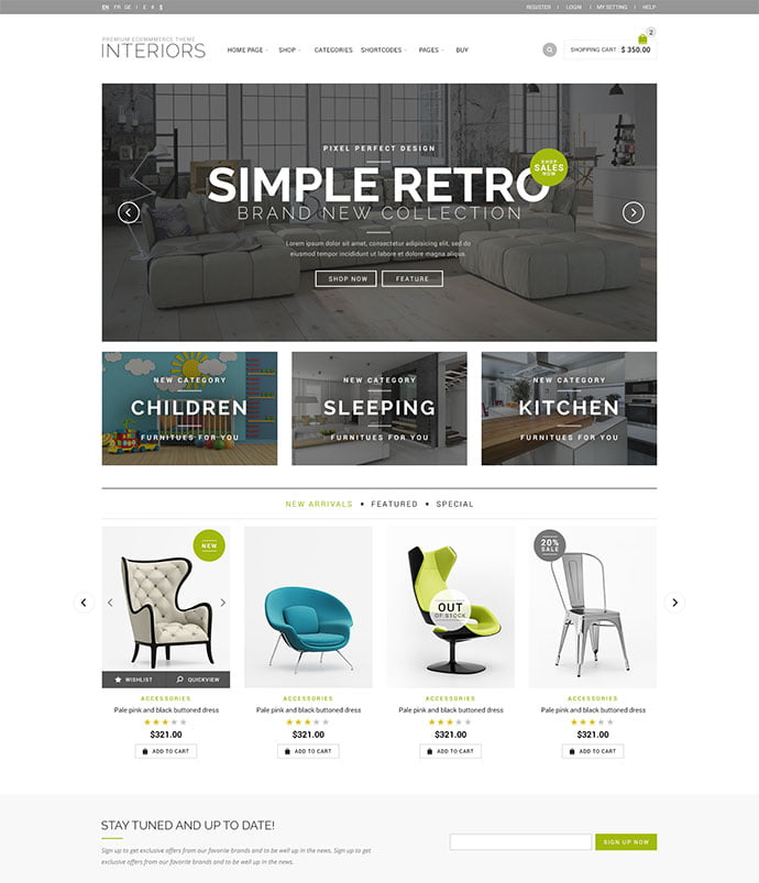 Royal - 40+ NICE WordPress Furniture & Interior Ecommerce Themes [year]