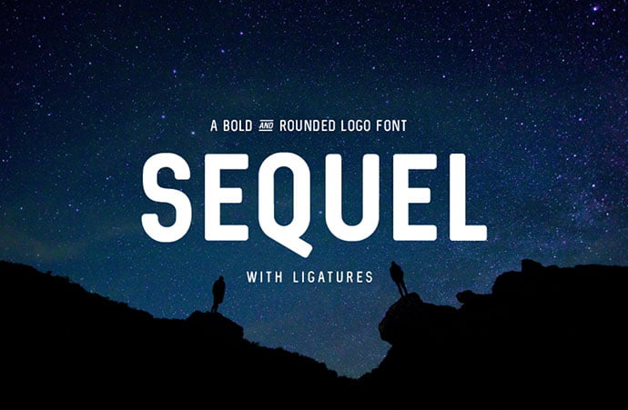 Sequel - 48+ GREAT Free Fonts Collection [year]
