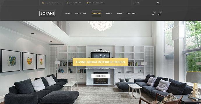 Sofani - 40+ NICE WordPress Furniture & Interior Ecommerce Themes [year]