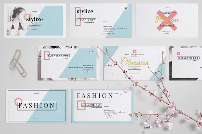 Stylize - 53+ TOP PSD Business Card Designs [year]