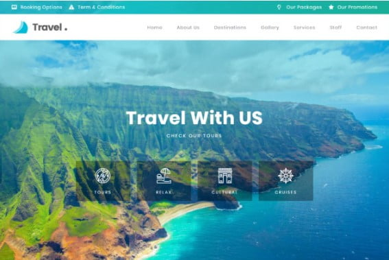 Travel-Tour - 33+ BEST Elementor Template Kits [year]