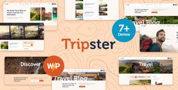 Tripster - 33+ BEST FREE WordPress Travel Themes [year]