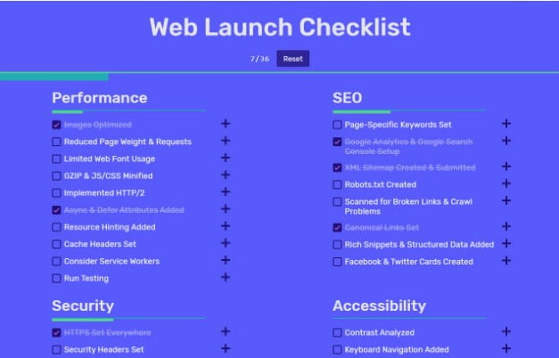 Web-Launch - 33+ TOP FREE Checkbox Designs & Animations IDEA [year]