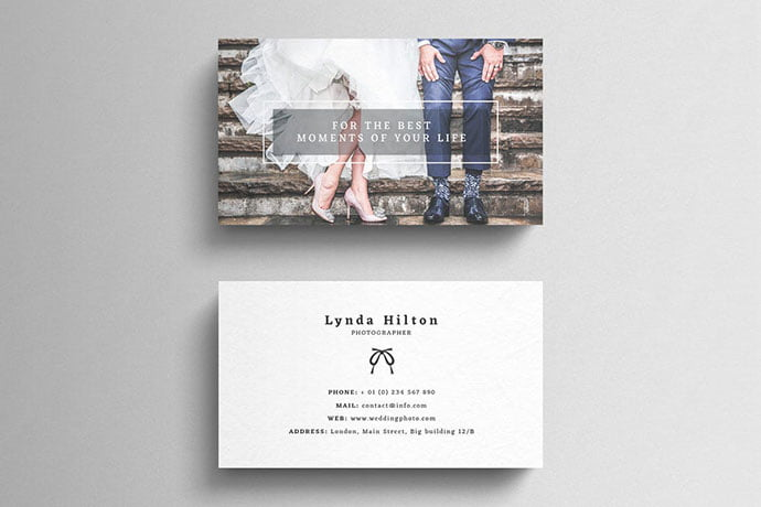 Wedding-Photography - 53+ TOP PSD Business Card Designs [year]