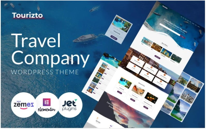 WordPress-Travel-Themes - 33+ BEST FREE WordPress Travel Themes [year]