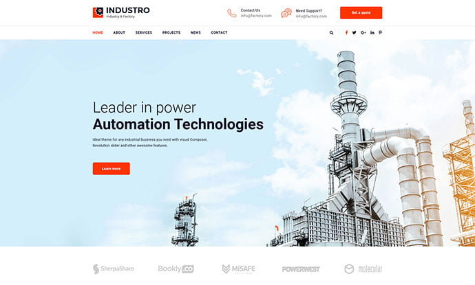 2 - 53+ BEST Designed PSD Website Templates [year]