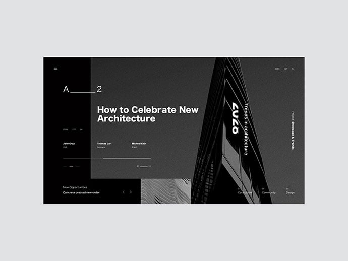 A23 - 53+ GREAT Architecture Website UI Designs IDEA [year]