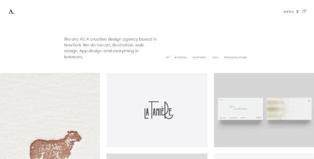 Air - 33+ NICE Developer WordPress Portfolio Themes [year]
