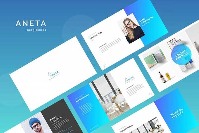 Aneta - 35+ BEST Google Slide Templates [year]