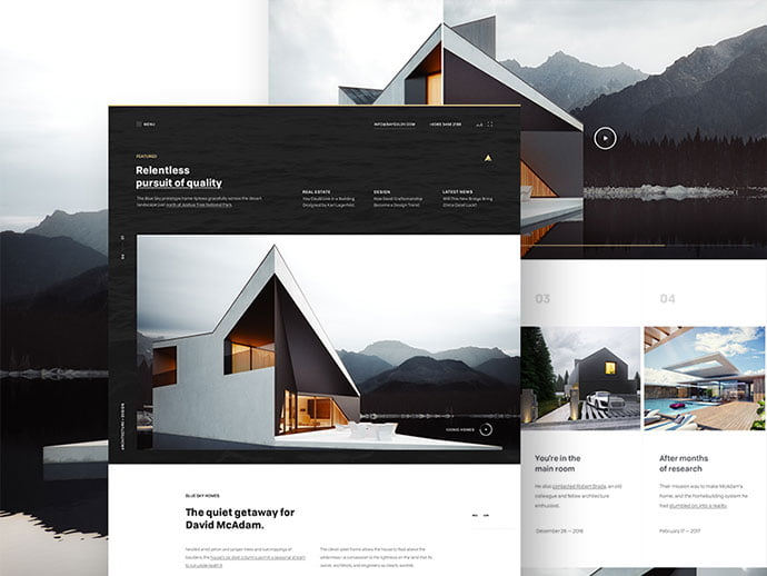 Architectur - 53+ GREAT Architecture Website UI Designs IDEA [year]