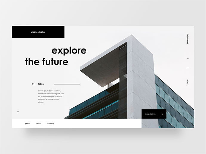 Architecture-photography - 53+ GREAT Architecture Website UI Designs IDEA [year]