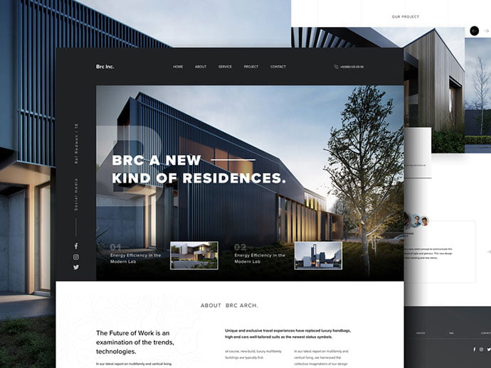 Architecture-website - 53+ GREAT Architecture Website UI Designs IDEA [year]