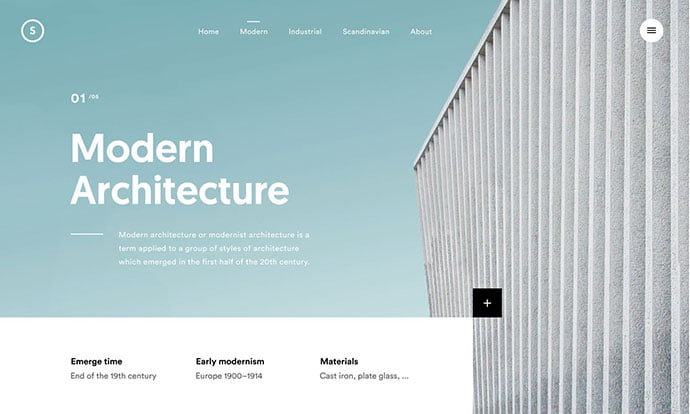 Article-Interaction - 53+ GREAT Architecture Website UI Designs IDEA [year]