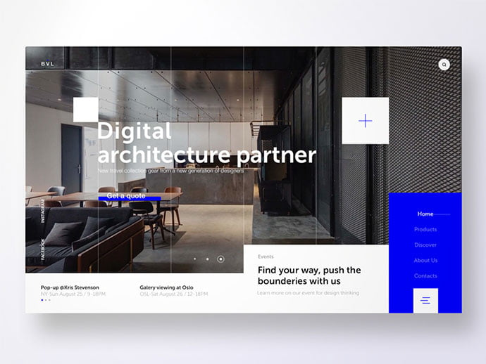 BLV - 53+ GREAT Architecture Website UI Designs IDEA [year]