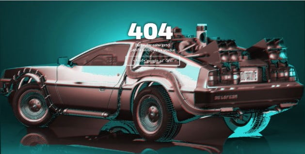Back-to-the-Future - 53+ BEST FREE CSS 404 Error Page IDEA [year]