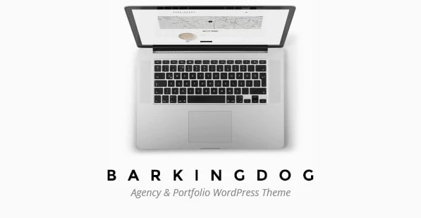 BarkingDog - 33+ AWESOME Blob Shaped WordPress Themes [year]