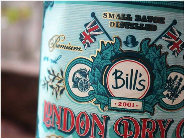 Bill's-Gin - 53+ FREE Timeless Vintage & Retro Typography Designs IDEA [year]