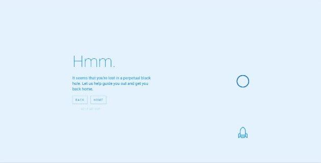 Black-Hole-404 - 53+ BEST FREE CSS 404 Error Page IDEA [year]