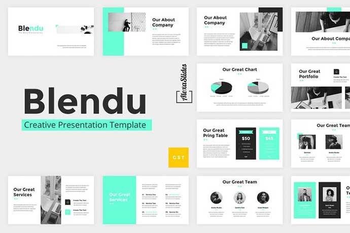 Blendu - 35+ BEST Google Slide Templates [year]