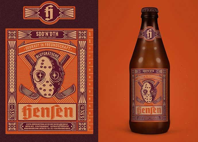 Brauerei-Hensen - 53+ FREE Timeless Vintage & Retro Typography Designs IDEA [year]