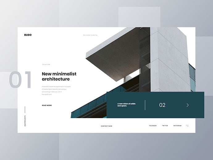 Building-Website-Concept - 53+ GREAT Architecture Website UI Designs IDEA [year]