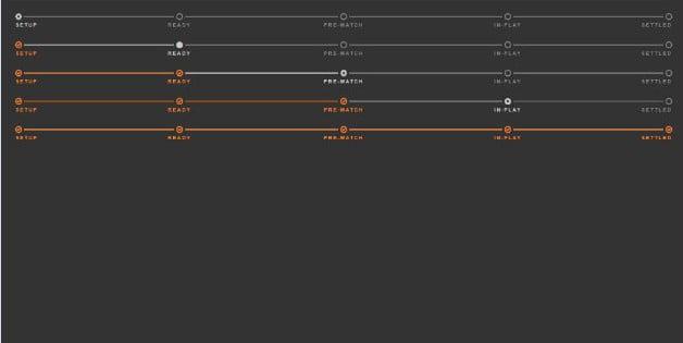 CSS-status-track - 38+ FREE CSS Breadcrumb Navigation IDEA [year]