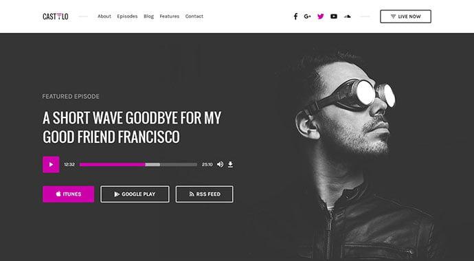 Castilo - 53+ BEST Designed PSD Website Templates [year]