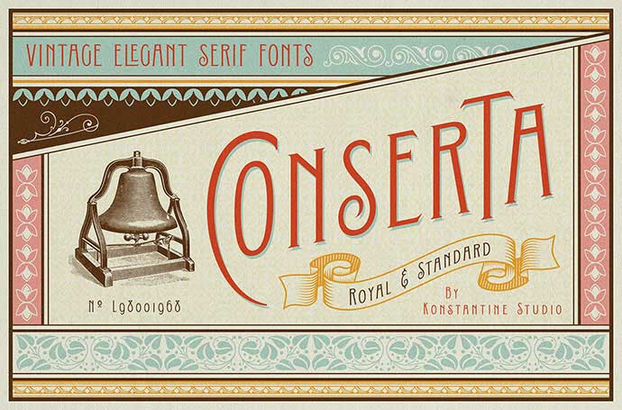 Conserta - 53+ FREE Timeless Vintage & Retro Typography Designs IDEA [year]