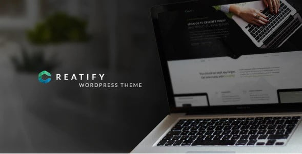 Creatify - 33+ AWESOME Blob Shaped WordPress Themes [year]
