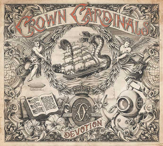 Crown-Cardinals - 53+ FREE Timeless Vintage & Retro Typography Designs IDEA [year]