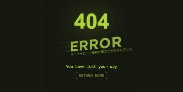 Cyberpunk-Error-page - 53+ BEST FREE CSS 404 Error Page IDEA [year]