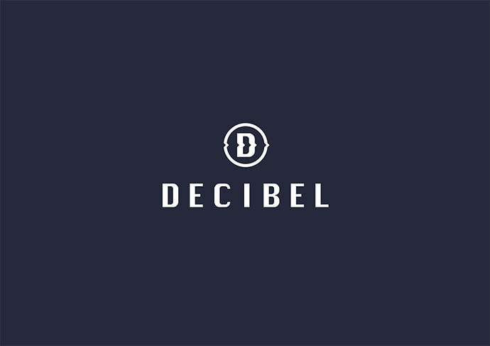 Decibel - 36+ NICE FREE Logos Playing With Perspective IDEA [year]