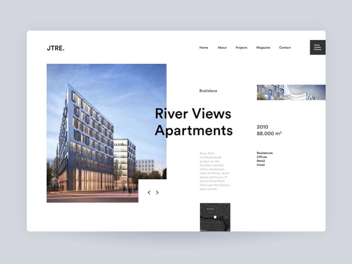 Did-you-find-your-niche - 53+ GREAT Architecture Website UI Designs IDEA [year]