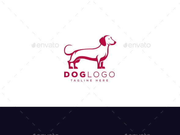 Dog-Logo - 36+ NICE FREE Logos Playing With Perspective IDEA [year]